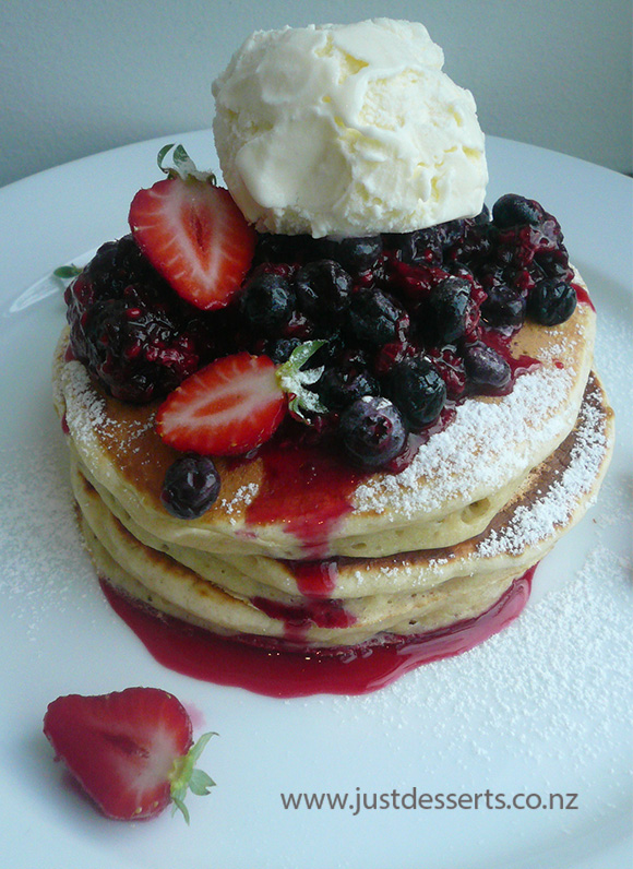 Just Desserts Breakfast Pancakes