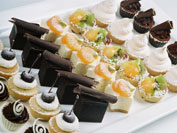 Petite Fours and French Pastries